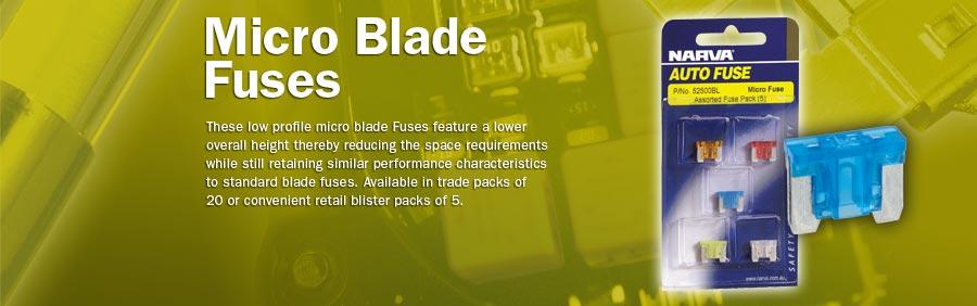 Fuse micro blade