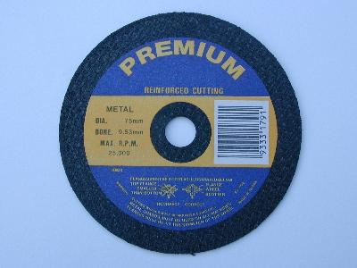 B4997A cutting wheel 125mm x 1.2 x 22 bore