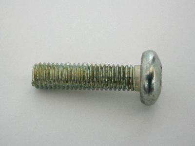 B1825/35 - Number Plate Screws - Pack 35 - PAN HEAD 5mm X 20mm