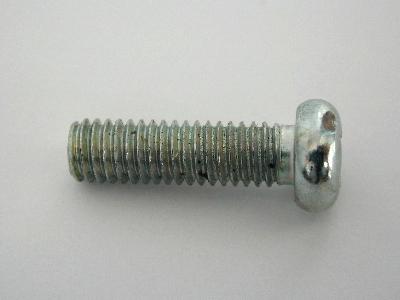 B1827/35 - Number Plate Screws - Pack 35 - PAN HEAD 6mm X 20mm