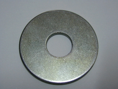 """B3452- flat washer Penny - Pack 40 - 3/8"""" hole penny"""