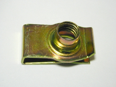 B3480s - Metal clip - Pack 10 - 8 mm speed nut short