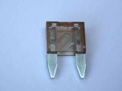 B3812 - mini fuse spade - pack 20 7.5AMP