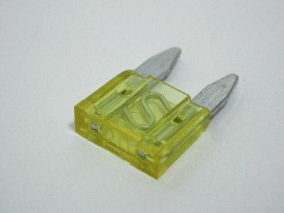 B3815 - mini fuse spade - pack 20 20AMP