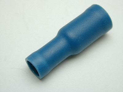 B637 - Electrical Terminal (Pack 40) Bullet Female Blue
