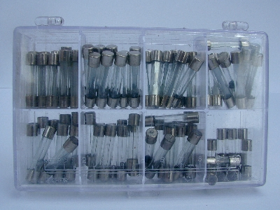 B780 - Fuse Kits - assorted glass fuses- 80 pieces