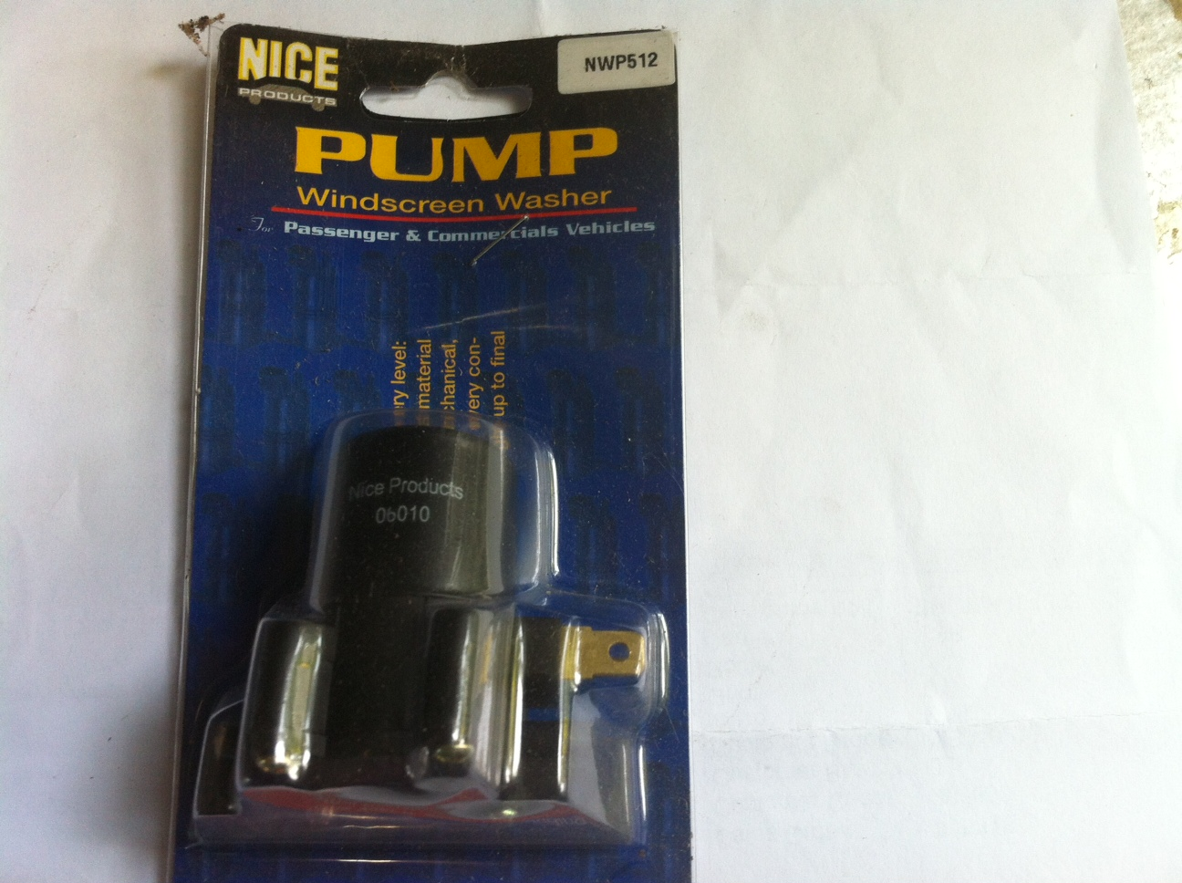 NWP512 Washer Pump