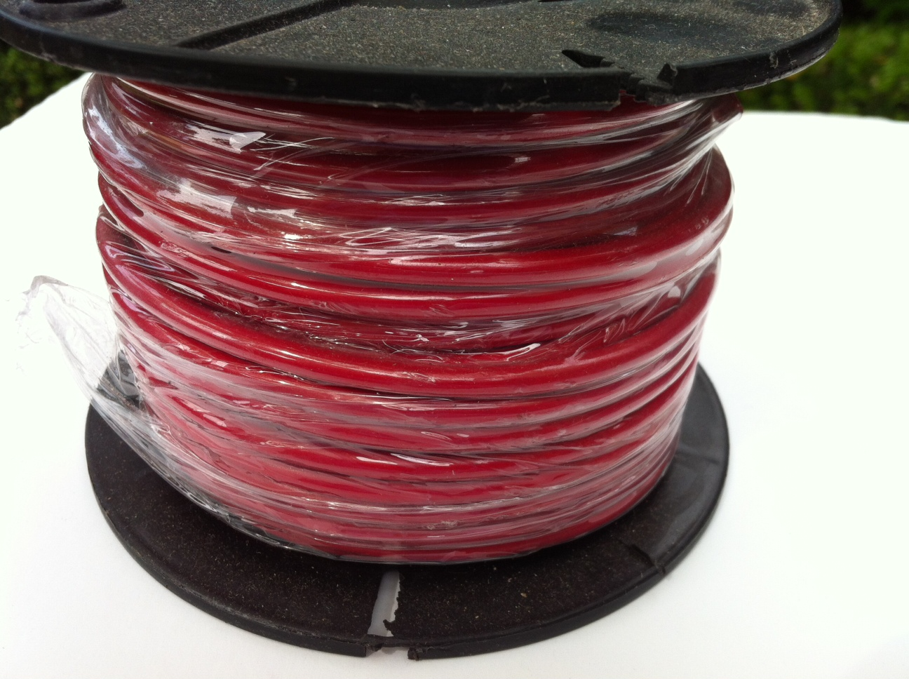 5mm red electrical wire 30M spool