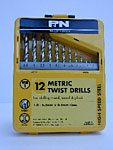 B4358 - Drill Bits  metric small Drill Set 12 pirce set
