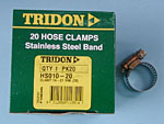 Tridon Hose Clamps HS10 14-27mm Heater Hose Box of 20