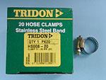 Tridon Hose Clamps HS8 13-25mm  Box of 20