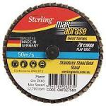 Flap Disc 50mm roloc type 80grit 1 each